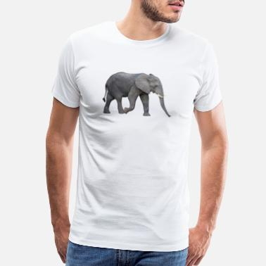 cf519f3cf042 Elephant Pregnant Elephant - Men s Premium T-Shirt