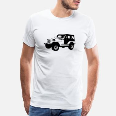 Wrangler jeep - Men's Premium T-Shirt