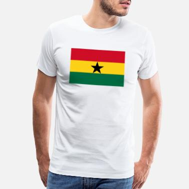 Ghana Symbols Ghana country flag love my land patriot - Men's Premium T-Shirt