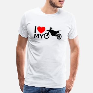 I Love Motocross I love Motocross - Men's Premium T-Shirt
