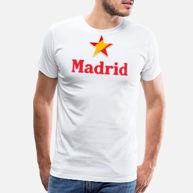 Spain Stars of Spain - Madrid - Men's Premium T-Shirt