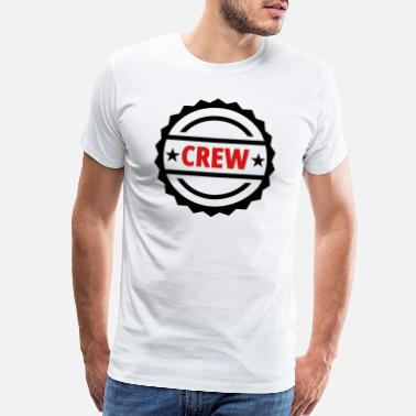 Crown Cork crew team button - Men's Premium T-Shirt