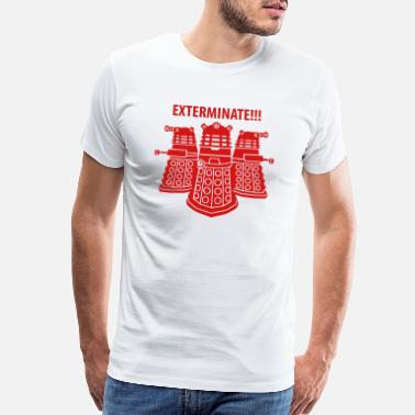Doctor Who dalek exterminate! - Men's Premium T-Shirt
