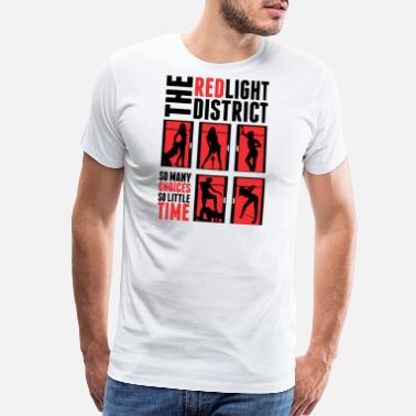 District The red light district - Men's Premium T-Shirt