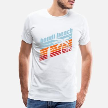 e71f4f8c Surfing BONDI BEACH - Men's Premium T-Shirt