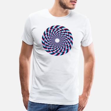 Illusion Optical Illusion 32A - Men's Premium T-Shirt