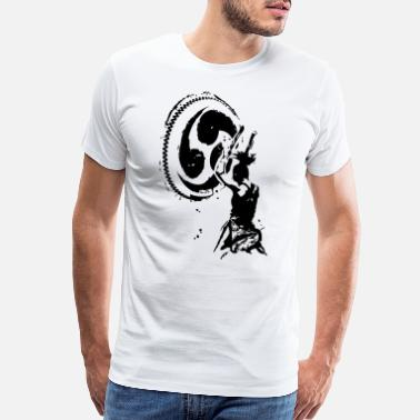 Taiko Female Taiko Player - Men's Premium T-Shirt