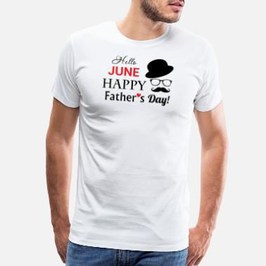 Happy Fathers Day Father's day - happy father's day - Men's Premium T-Shirt
