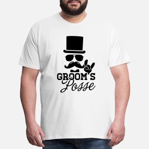 8f84b06f Party T-Shirts - Groom Wedding Marriage Stag night bachelor party - Men's  Premium T. Do you want to edit the design?