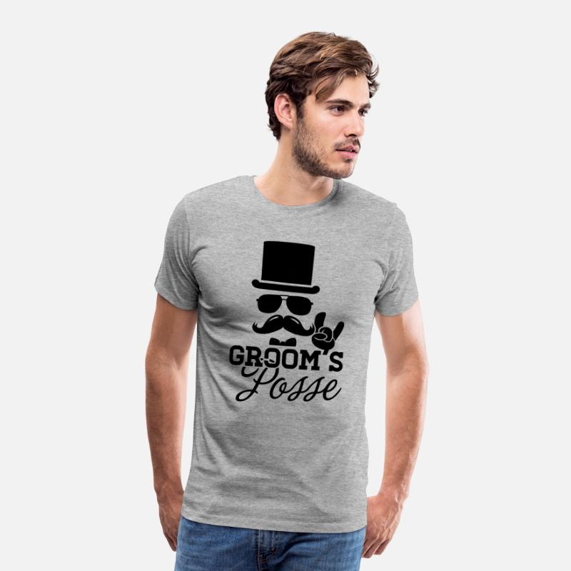 7ec8bf2e Groom Wedding Marriage Stag night bachelor party Men's Premium T-Shirt |  Spreadshirt