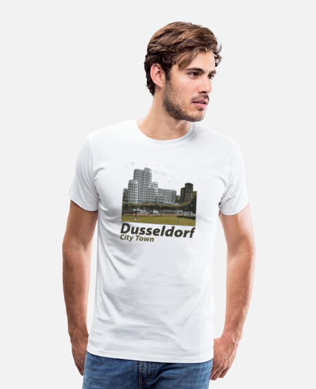 I Love T-Shirts - Düsseldorf,Germany - Men's Premium T-Shirt white