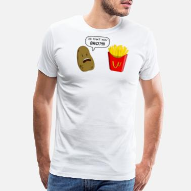 Funny Food potato - Men's Premium T-Shirt