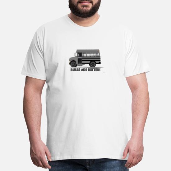 Buses are better! short school bus conversion rv Men's