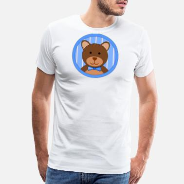 Teddy Man Teddy Bear Boy - Men's Premium T-Shirt