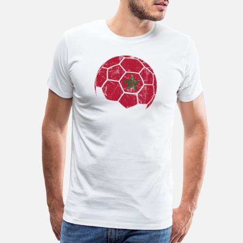 Morocco Soccer Football Ball Men s Premium T-Shirt  ac1a0b4b5