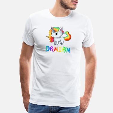 Damian Damian Unicorn - Men's Premium T-Shirt