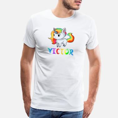 Victors Victor Unicorn - Men's Premium T-Shirt