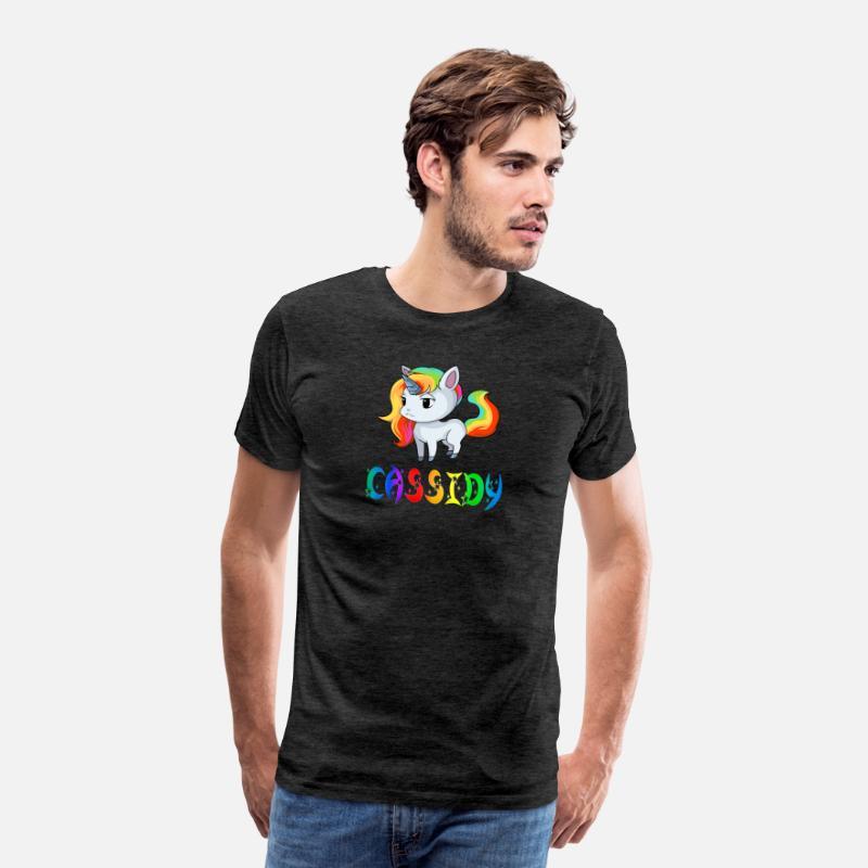 half off 4d865 3d0ae Cassidy Unicorn Men s Premium T-Shirt   Spreadshirt