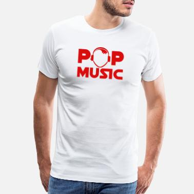 Pop Star pop music - Men's Premium T-Shirt