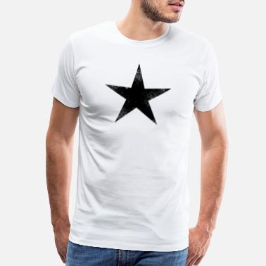Black Star black star - Men's Premium T-Shirt
