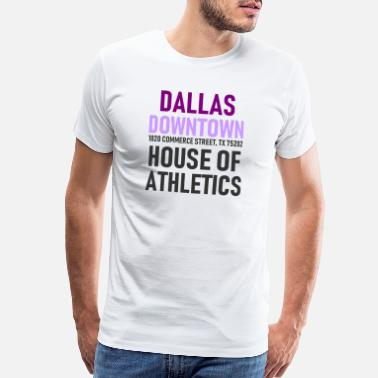 Fort Worth Dallas - Downtown - House of Athletics - Texas - Men's Premium T-Shirt