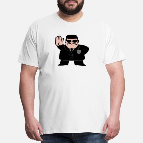 bodyguard security man gift present bouncer door by spreadshirt