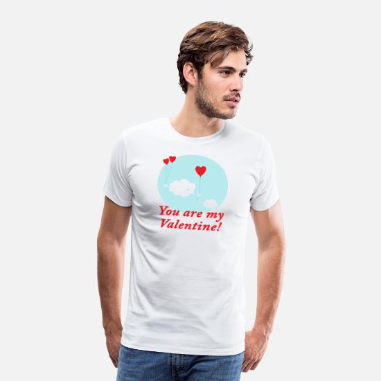 Partnership T-Shirts - Valentines Day Gift Boyfriend Girlfriend Love - Men's Premium T-Shirt white