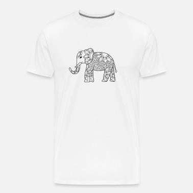 4fc5aa366c73 Elephant Men s Premium T-Shirt