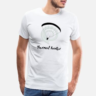 Paragliding Thermal Hunter - Men's Premium T-Shirt