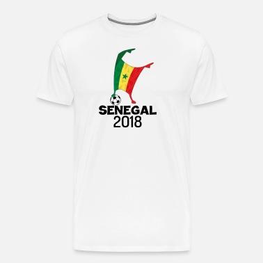 6d719f455 Senegal Flag 2018 Football Cup Soccer Dabbing World Jersey Men s ...