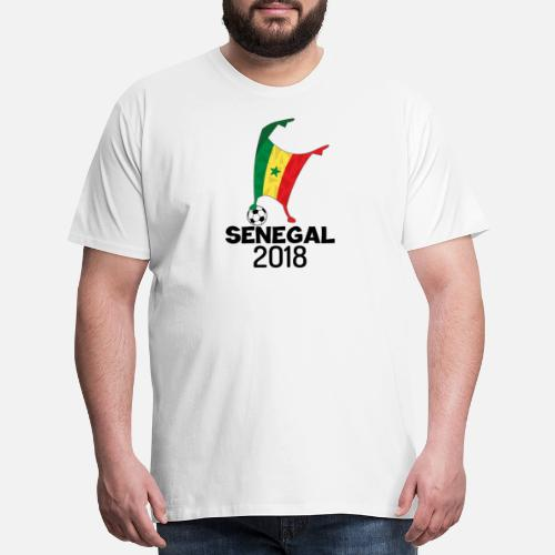 a2a4f3852 Flag T-Shirts - Senegal Flag 2018 Football Cup Soccer Dabbing World Jersey  - Men s. Do you want to edit the design