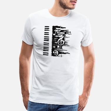 Keyboard Instrument Piano - Men's Premium T-Shirt