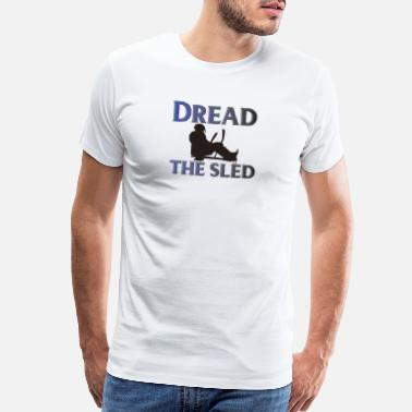 Sledge Dread the sled - Men's Premium T-Shirt