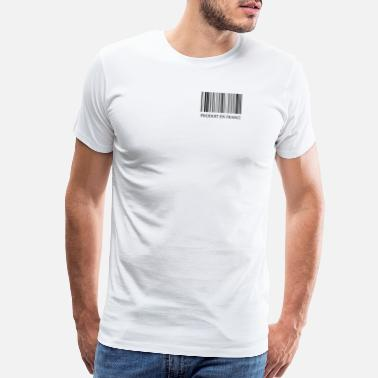 Anthem Produit en France Made in France Barcode - Men's Premium T-Shirt