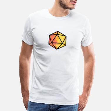 Critical Light Diamonds Dice D&D - Men's Premium T-Shirt