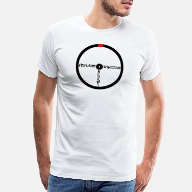 Steering Wheel steering wheel - Men's Premium T-Shirt