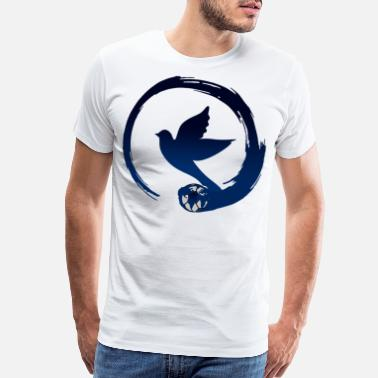 Raider BIRD Sphere Football Baseball Sport Animals Fly - Men's Premium T-Shirt