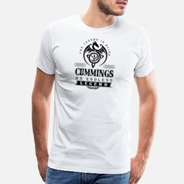Cum Swallow CUMMINGS - Men's Premium T-Shirt