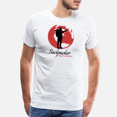 Backpackers Backpacker - Men's Premium T-Shirt