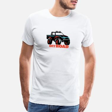 Pick Up Flirt Off road pick up - Men's Premium T-Shirt