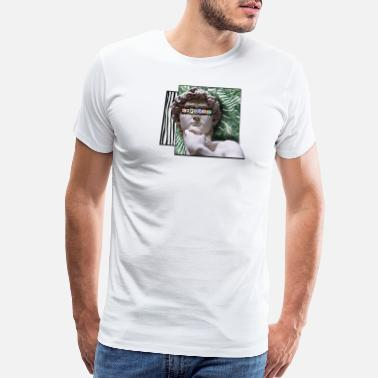 David - Michelangelo david Sculpture dice - Men's Premium T-Shirt