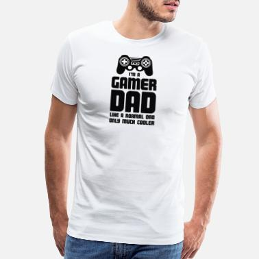 Gamer Gamer Dad - Men's Premium T-Shirt
