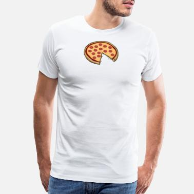 Son Funny Cute Pizza Slice Matching Shirt Couple Love - Men's Premium T-Shirt