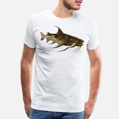 big monster fish - Men's Premium T-Shirt