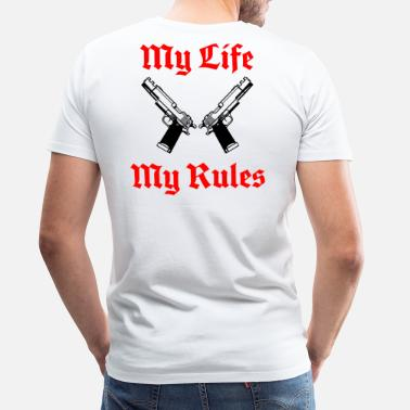My Life My Life My Rules - Men's Premium T-Shirt