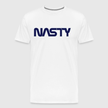 Space Commander Nasty 2-Color - Men's Premium T-Shirt