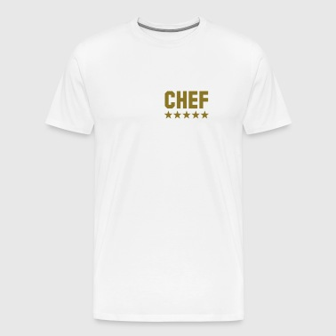 chef 5 star - Men's Premium T-Shirt