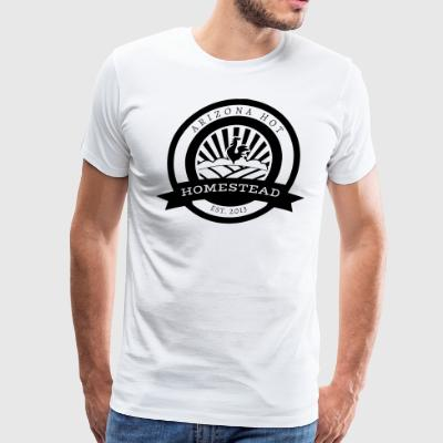 AHH Logo Black White - Men's Premium T-Shirt