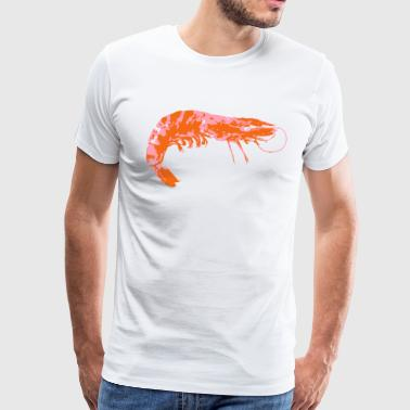 Shrimp Scampi Seafood - Men's Premium T-Shirt