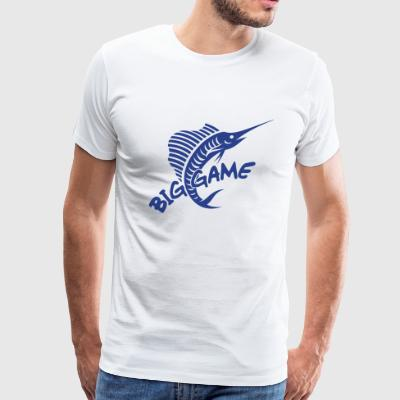 Big Game / Big Game Fishing - Men's Premium T-Shirt